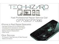 Edgware iPhone smashed screen repair service while you wait till 11pm
