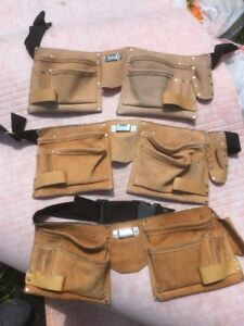 Two Tool Belts