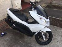 Honda pcx 125 2012 low mileage