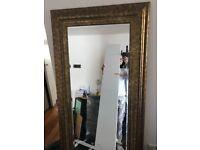 UEGENT SALE Mirror (gold colour)