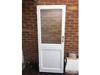 Internal Door with half glass