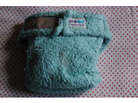 7 x Bambinex 3,5-10 kg Size 1 nappies + boosters