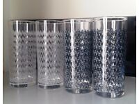 Drinking glasses (4 pieces)