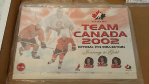 2002 Team Canada Olympic Pin set + bonus