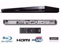 SONY CD BLU-RAY SACD DVD SUPER AUDIO PLAYER Sony BDP-S370 DVD MKV DivX SACD Blu-Ray Player Slim