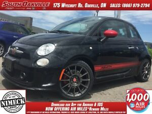 2013 FIAT 500 Abarth | LEATHER | MANUAL | SUNROOF