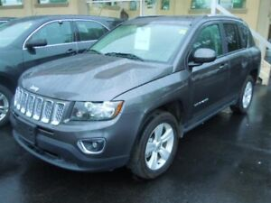 2016 JEEP COMPASS HIGH ALTITUDE- POWER GLASS SUNROOF, LEATHER HE