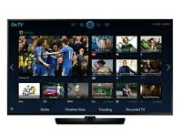 "Samsung 40"" LED smart tv Wi-Fi built USB MEDIA PLAYER HD FREEVIEW full hd 1080p ."