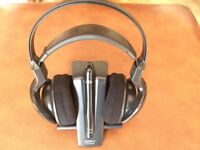 Sony Wireless Rechargable Headphones - MDR-RF820R with Charging Base TMR- RF850R