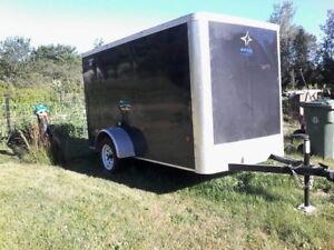 2017 5x10 enclosed trailer