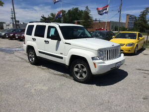 2008 Jeep Liberty Sport SUV 4x4 ONLY 117 KM's Safety & Etested!