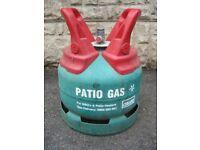 Full Patio Gas Propane Gas Bottle 5kg
