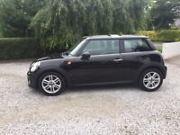 Midnight Black 1.6 Mini Cooper with chilli Pack 3 doors low mileage