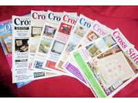 Selection of Needlecraft Cross Stitch Sewing Magazines / Books, Price is per Magazine, Histon