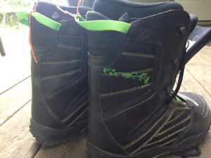Snow board boots (size 5.5)