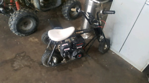 6.5hp mini bike 2 seater