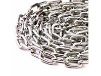 bicycle chain lock 1 meter long heavy duty thick never used