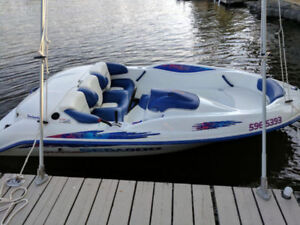 1997 Sea Doo Sportster Jet Boat & Trailer- Very Good Condition