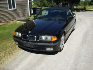 1997 BMW 3-Series noir Cabriolet