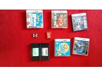 Nintendo DS lite plus 8 games