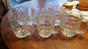 6 beer mugs