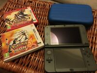 Nintendo 3DS XL + Pokemon Sun & Pokemon Omega Ruby + case - great condition, never used - £160 o.n.o