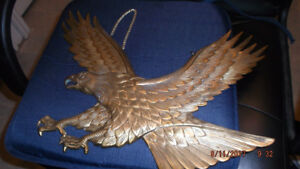 SOLID BRASS AMERICAN EAGLE