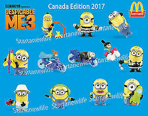 McDonalds Happy Meal Despicable Me 3 Minion Toy