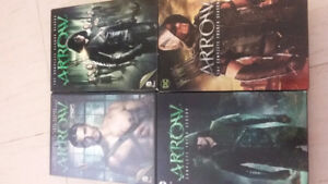 Arrow tv season 1-4