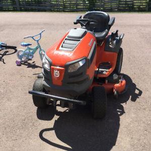 husqvarna tractor mower 48''