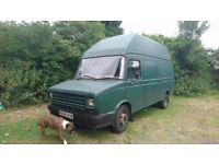LDV 400 Diesel Camper van. Runs + MOT til 9th August. 2 beds/ cooker/ fridge etc.