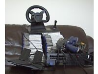 Playstation 2 with accesories