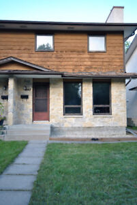 Great family home near schools and parks available Sept 1