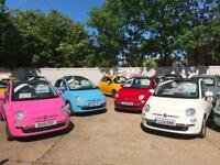 Fiat 500 C Lounge CONVERTIBLE / OVER 20 FIAT 500S IN STOCK
