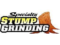 Stump grinding specialist,problem stump?