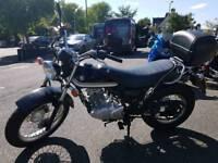 Suzuki van van 125cc motorbike