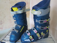 Lange XR8 Blue Ski Boots - Size 10?