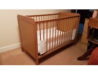 Ikea cot for sale