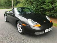 2001 PORSCHE BOXSTER S 3.2 PETROL 6 SPEED MANUAL SPORTS CONVERTIBLE