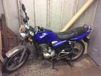 Baimo RSR 125 motorbike. Non-starter. For sale as parts or a project.