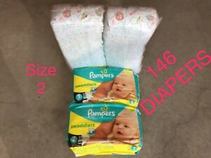 Pampers Diapers size 2 (146 count)