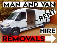 MAN AND VAN HIRE 🔴 HOUSE, FLAT, STUDENT, STORAGE REMOVALS / WITH / ITEM DELIVERY