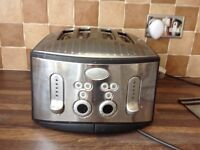 Brevlle four slice toaster