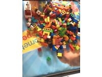 Duplo bricks large amount b28