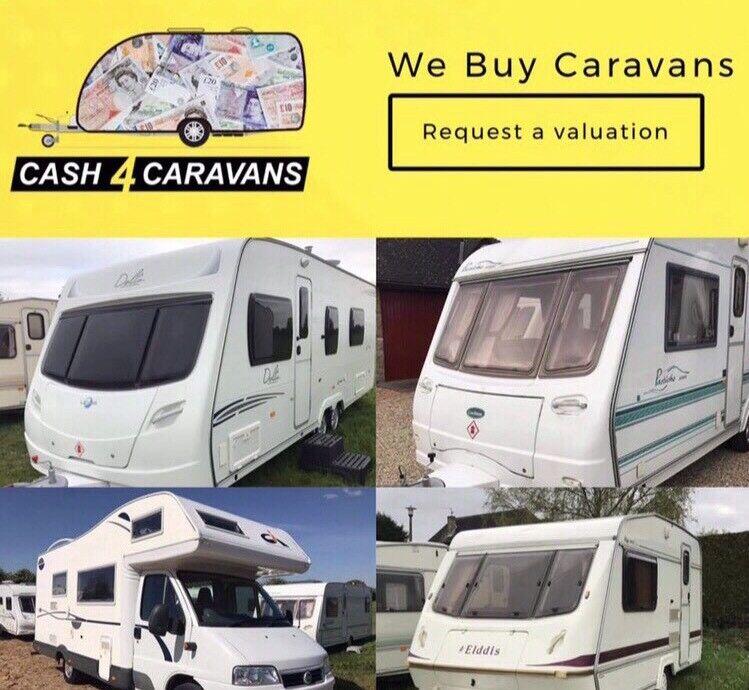We Buy Caravans!! 💷 📞Call Billy on: 07919961115📞