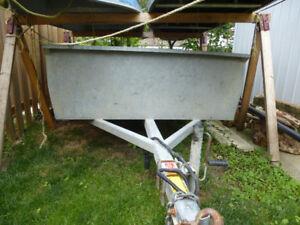 galvanized utility trailer   5x8