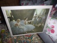 'THE BALLET' BY LAURA KNIGHT 50's 60's RETRO PRINT