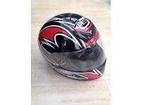 Full face motor cycle helmet