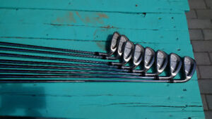 Taylor Made RAC OS irons 3-PW Great condition