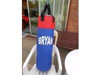 Bryan Punch Bag - Boxing/Martial Arts. Good Condition.